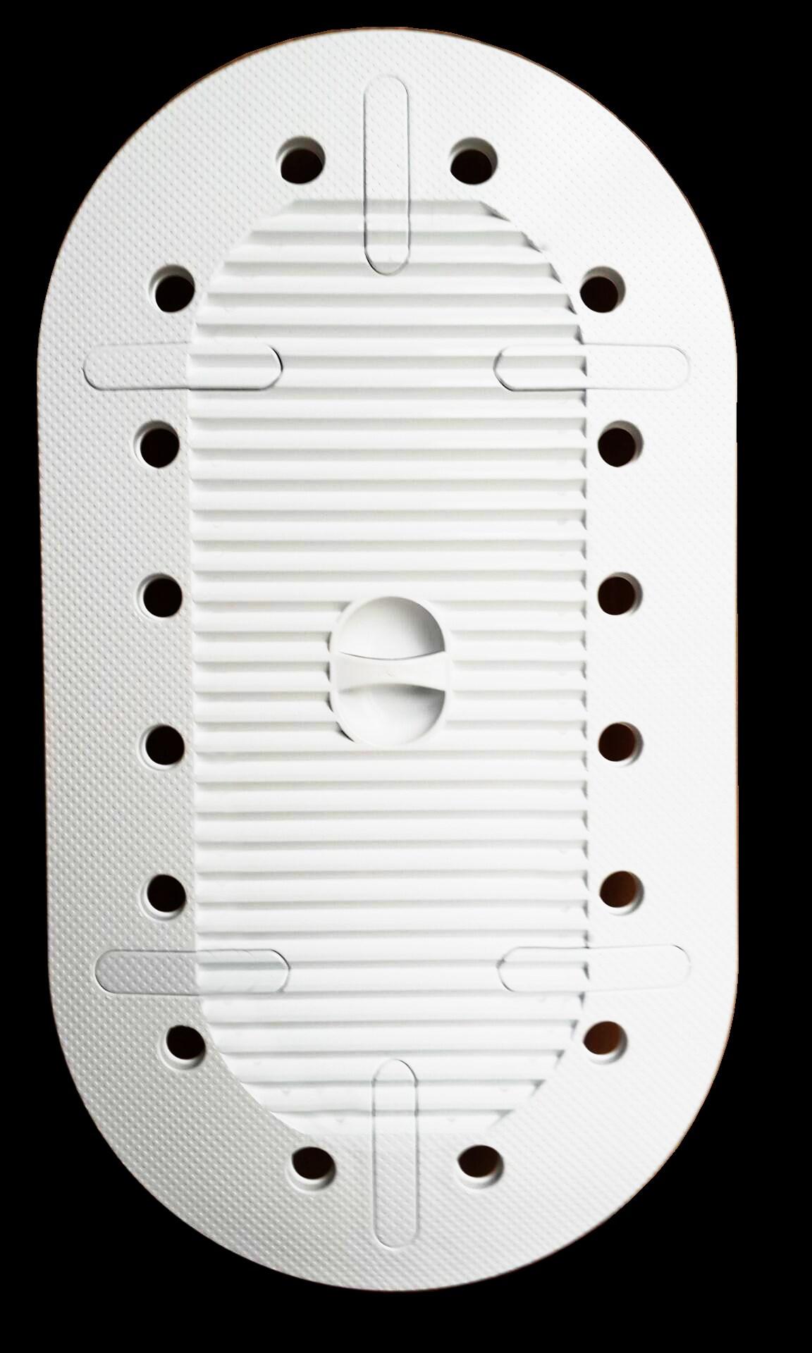 蹲便器盖板蹲坑盖蹲厕盖大便池防臭防鼠盖子卫生间洗澡防滑防堵