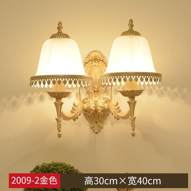 北欧后现代轻奢壁灯客厅背景墙简约创意床头卧室楼梯过道璧灯磨砂