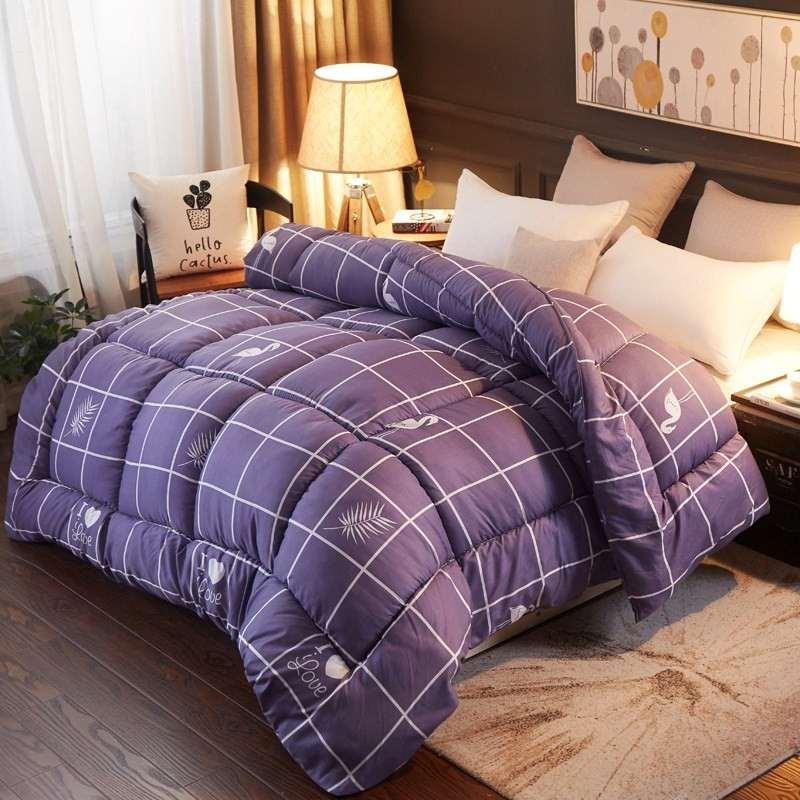 斤冬季厚 7 米床铺盖 2.1.5 床双被 1.8m 床被子被芯 1.5m 斤 5 床 1. 秋季女