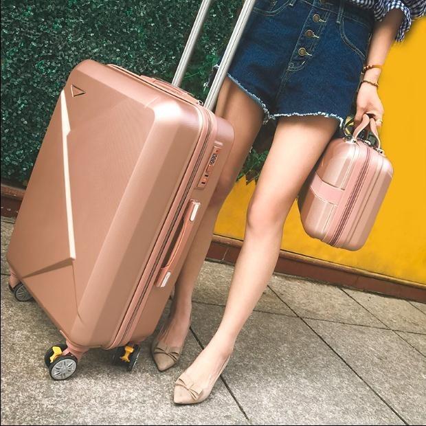 寸大学生出差多功 24 密码手提男女新款拉杆箱套装母子行李箱子母箱