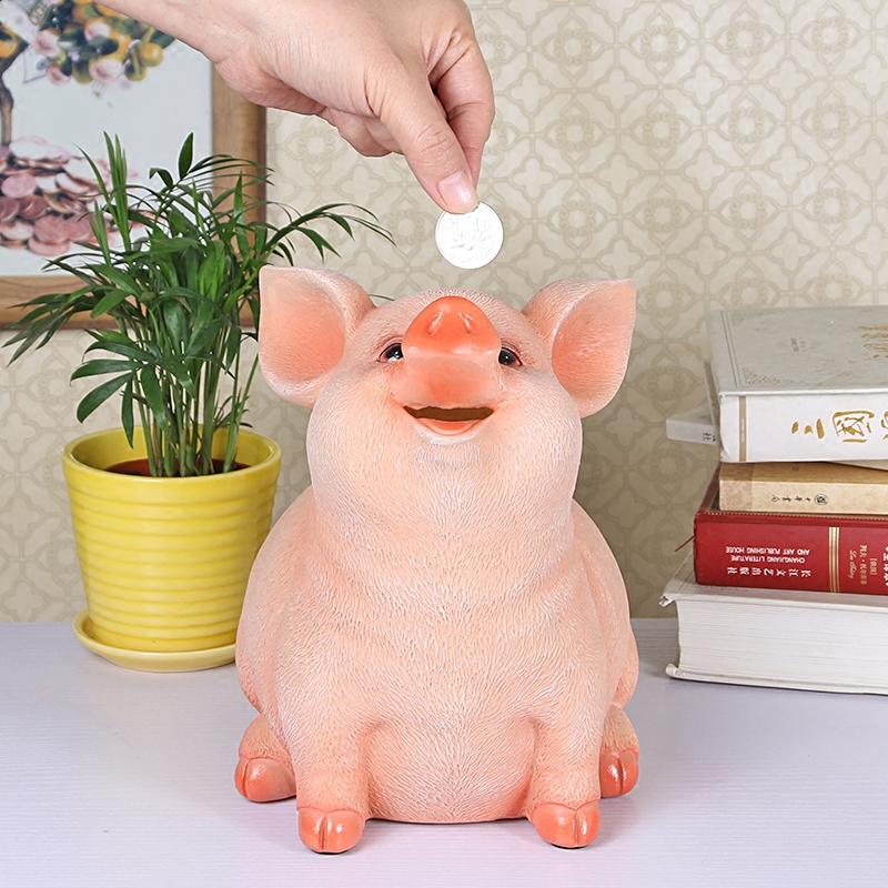 储钱罐 儿童存钱十二生肖小猪创意储蓄可爱只进不出个性摆设成人