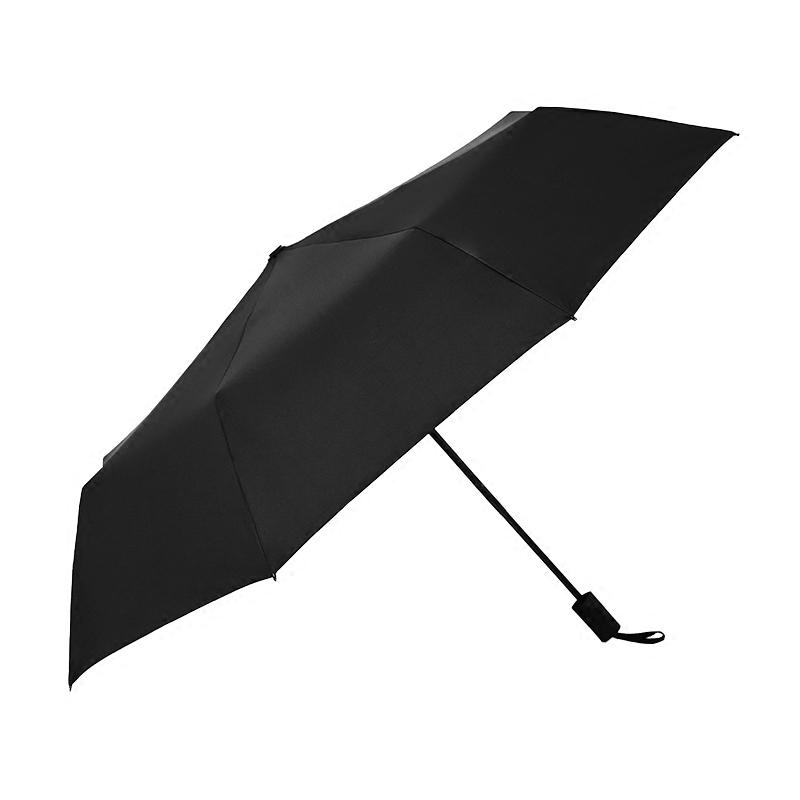 雨伞女晴雨两用创意黑胶太阳伞防紫外线清新遮阳伞折叠纯色三折伞