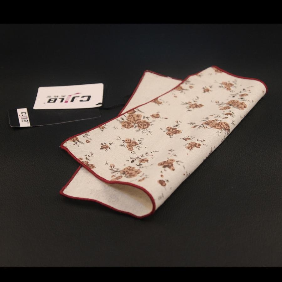 商务休闲男领带正装西装口袋巾手帕巾方巾 英伦欧美棉布方巾