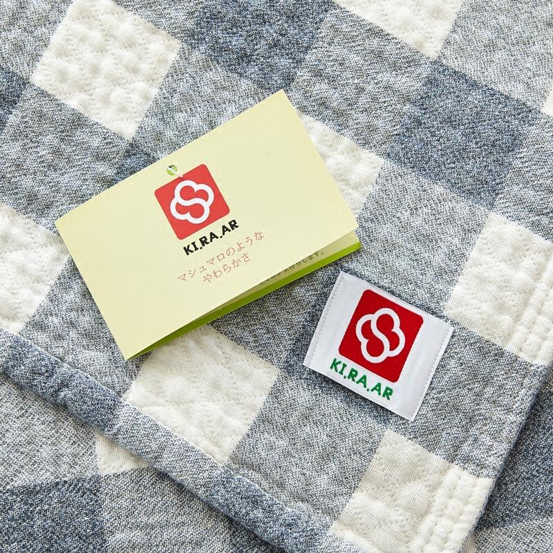 日本进口纯棉纱布单人双人毛巾被 午睡毯休闲毯空调毯 毛毯盖毯
