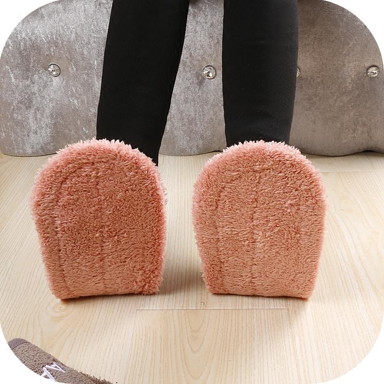 包邮四季露趾日韩懒人擦地板拖鞋家居静音拖鞋可拆洗厨房清洁拖鞋