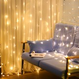 Newsoo curtain light LED star lights lights flashing lights lights stars room decoration girl heart waterfall lights