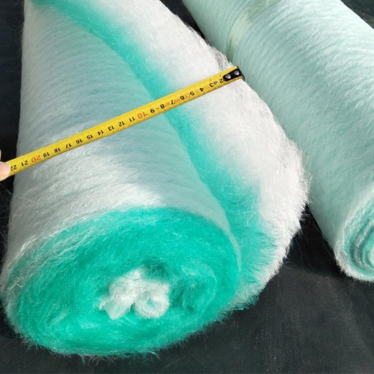 烤房玻璃丝棉纤维棉汽车喷漆漆雾毡地格棉过滤棉 热销烤漆房地棉