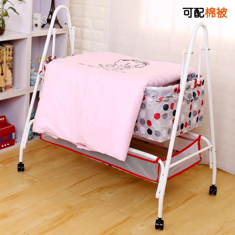 婴儿吊床婴儿床新生儿摇篮婴儿摇床宝宝摇篮床BB睡篮秋千式摇摇床