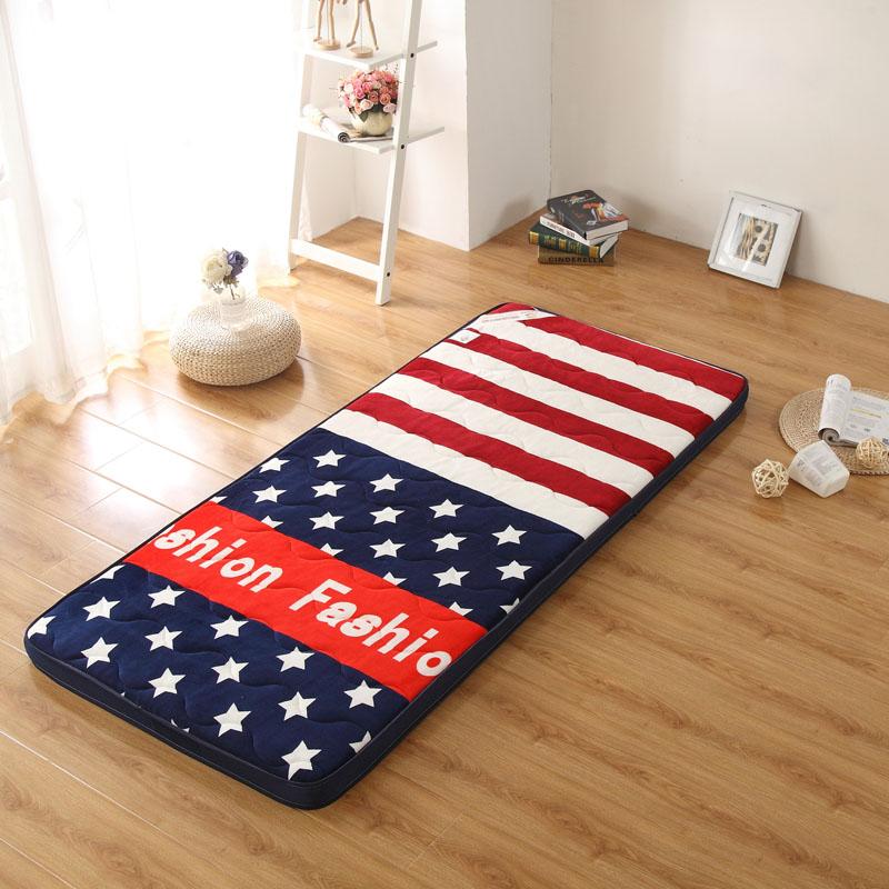 工程舒 0.9.1.9 子床垫可洗薄枕套春夏硬薄排携带伴侣飘窗车床垫