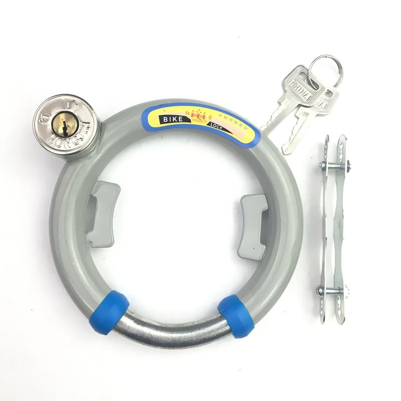 型鎖自行車車固定 鎖蟹鉗鎖 老式圈鎖圓鎖鋼管鎖 鎖鎖防盜鎖