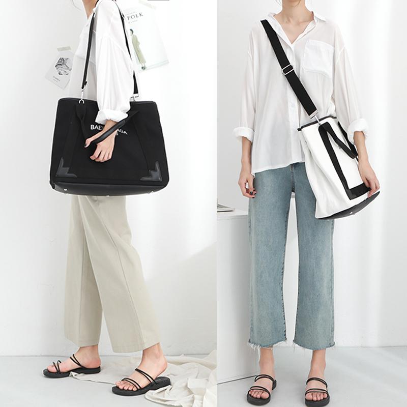旅行包韩版短途旅游包女帆布包潮单肩包旅行袋斜挎包手提包行李包