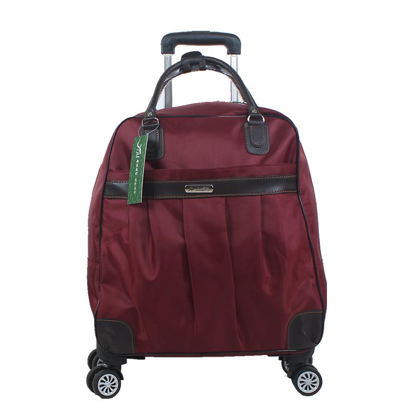 拉杆包旅行包女手提行李包万向轮软箱防水大容量短途旅游包韩版潮
