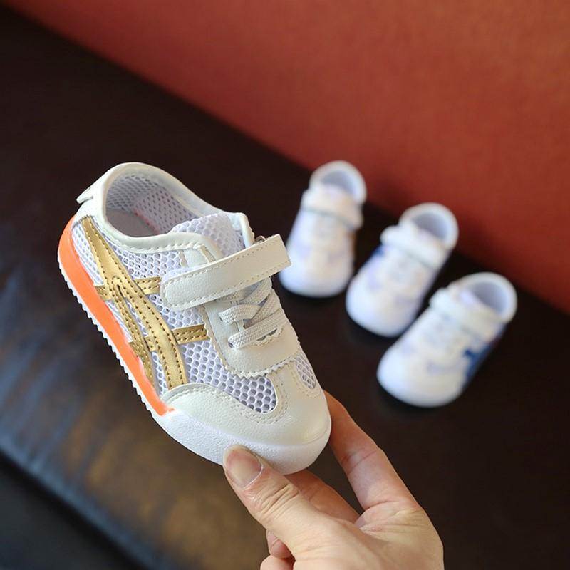 夏季新款童鞋儿童运动鞋男童女童透气网面跑步鞋时尚镂空单鞋