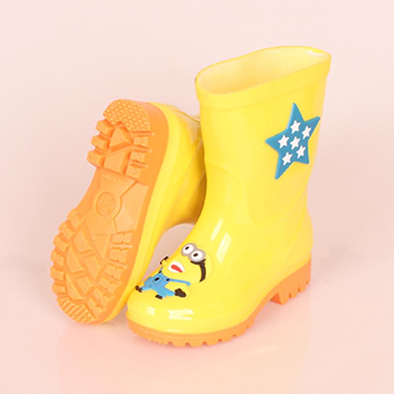 岁 12 3 儿童雨鞋男女童防滑小孩学生雨靴幼儿水鞋胶鞋保暖四季通用