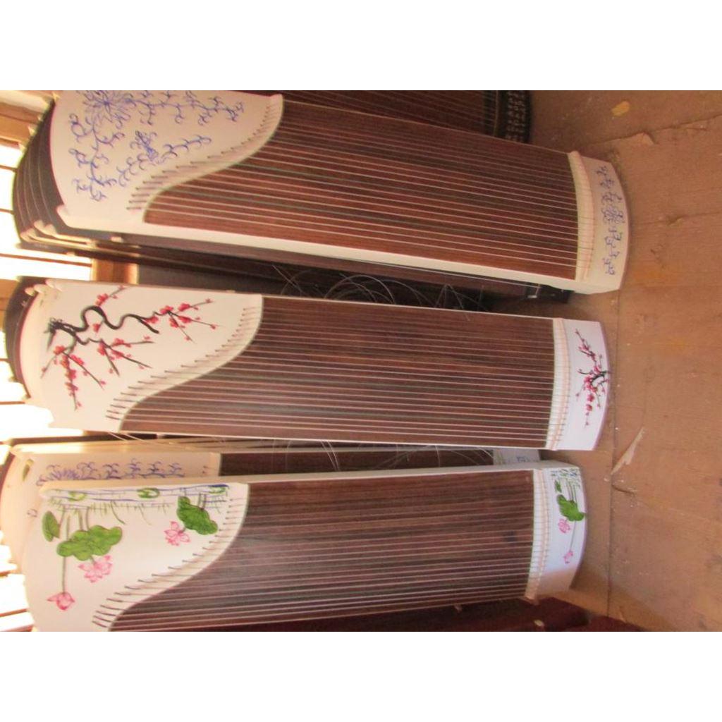 专业练习 迷你式 便携式素面小古筝 型兰考纯桐木半筝 125 包邮传扬