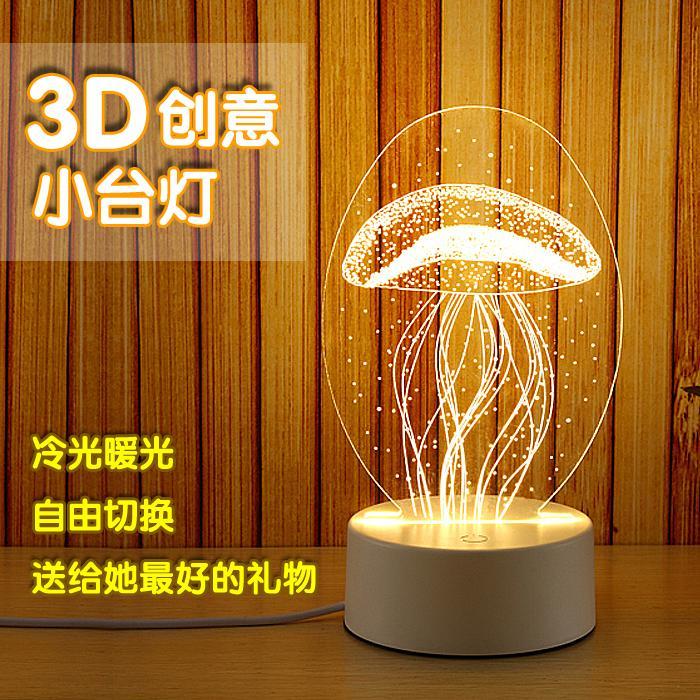 小夜灯插座式创意卧室床头节能灯泡婴儿喂奶 led 暖夜光插电