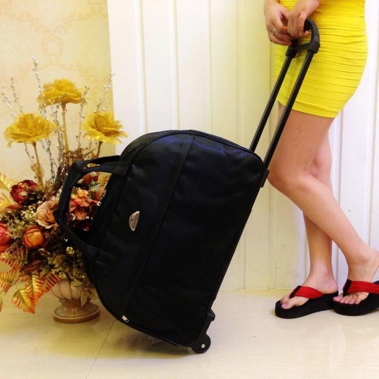 寸包邮 24 寸 20 新款拉杆箱防水帆布旅行箱软箱女牛津纺布男行李箱包