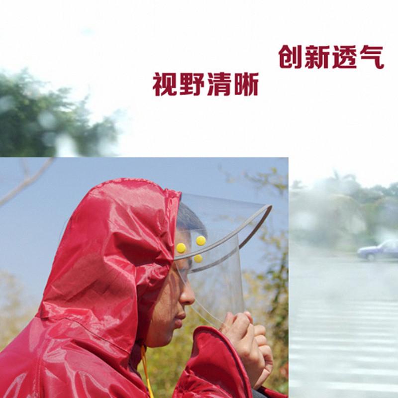 大电动自车行车雨衣双人摩托车大人三人防水加大加厚加宽雨披女