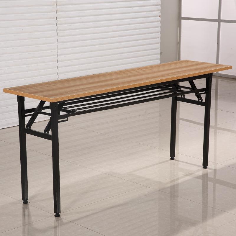 书桌写字台学习桌摆摊桌 ibm 培训桌长条形办公会议桌 折叠桌