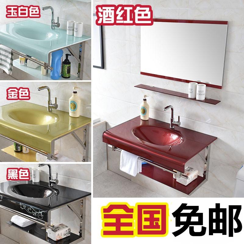 挂墙式浴盆沐浴简易中式柜浴室柜组合吊柜衣柜小型洗手台下盆洗面