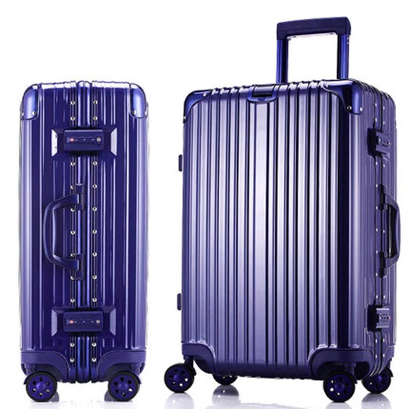 寸密码皮箱子轻便大容量拉杆箱学生男女 20 旅行箱万向轮登机行李箱
