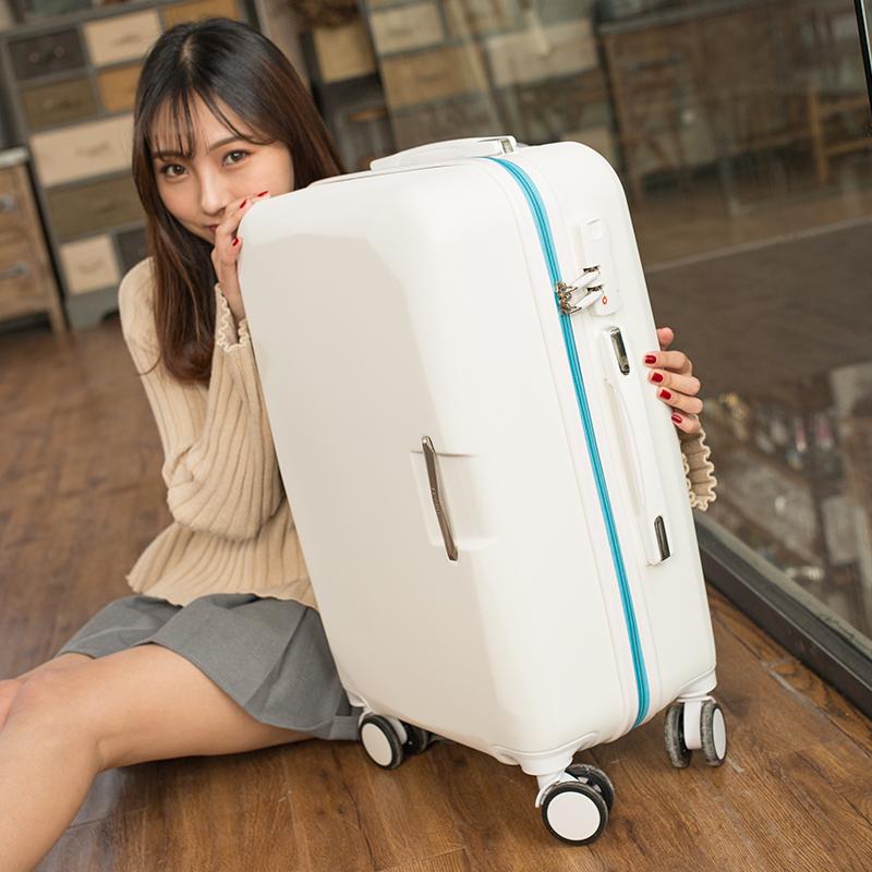 拉杆箱万向轮男女拉竿干杠秆扦扛旅行李箱包垃杆旋登机行理箱拖