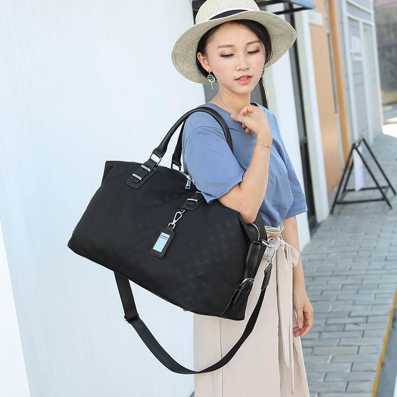 短途旅行包女手提行李袋轻便韩版潮出差旅游包男大容量健身衣服包