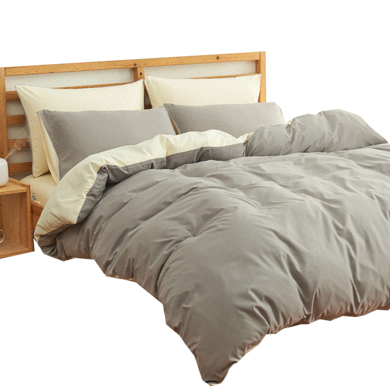 1.8m1.5 纯色床笠 4 米 1.2 床上用品四件套被套被子被单床单人三件套