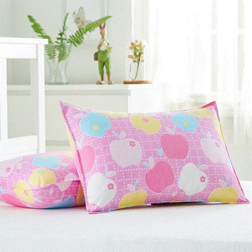 枕头带加枕芯学生宿舍床上单人软枕可爱一只装枕套套装