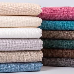 沙发布料 手工diy加厚粗亚麻棉麻纯色老粗布帆布麻布桌布抱枕面料