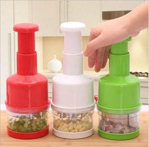 网红同款不锈钢手压式切菜器拍拍刀厨房姜蒜切碎切洋葱酱料切碎器