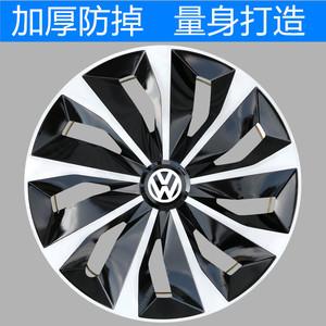 适用大众新老款捷达轮毂盖R14寸 Polo轮毂罩桑塔纳车铁圈装饰盖帽