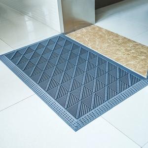 门口地垫进门除尘室外防滑橡胶商用塑料地毯拼接门垫酒店蹭土脚垫