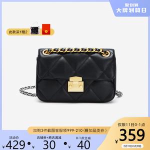 Belle/百丽预售20天发货-百丽箱包2020夏菱格纹背提包X4885BN0A