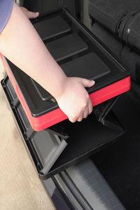 后备箱储物箱汽车尾箱车载收纳箱盒整理神器车用用品大全车内置物