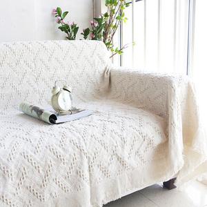 简约沙发巾全盖 防滑双人座沙发毯套毯子 欧式田园布艺沙发罩加厚