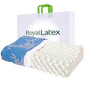 Royallatex泰国原装进口乳胶枕头皇家正品代购高低按摩枕头护颈椎