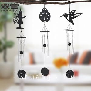 小精灵迷你铝棒风铃女生节日礼物房间小清新创意挂饰卧室装饰风铃