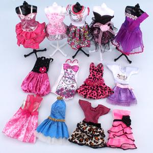 克時帝芭比30CM換裝套裝洋娃娃時尚衣服裝時裝裙子禮服短裙婚紗