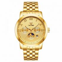 时尚流行女士腕表TEVISE特威斯品牌手表机械表运动款多功能全自动