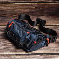 斯帕曼潮牌男包大容量运动腰包户外旅行胸包男士斜挎包帆布小背包