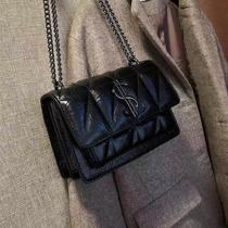 高级感小包包女2020新款潮秋冬时尚简约流行链条单肩包百搭斜挎包