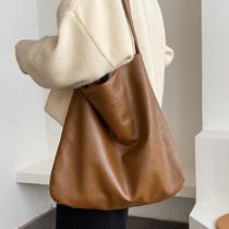 大容量包包女包2020新款潮时尚简约单肩包网红百搭托特包软皮大包