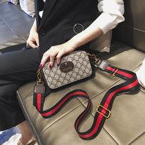 2020小包包女2019新款时尚网红韩版小方包百搭宽带单肩斜挎相机包