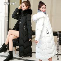 棉服女2020新款学生宽松韩版过膝长款冬天外套女外套女潮ins冬季