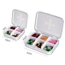 小便提醒器电子智能收纳吃药携式随身放药定时闹钟药盒分�a盒神