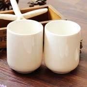 闻香杯_低价批发纯白陶瓷小杯子茶杯闻香杯小奶杯陶瓷水杯小杯