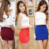 10元潮流女装精品性感包臀裙女士弹力一步裙高腰显腿长紧身超短裙