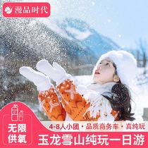 云南玉龙雪山纯玩一日游大索道门票蓝月谷跟团游丽江印象云南旅游