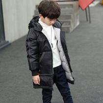 童装男童羽绒棉服2019新款儿童中长款棉衣中大童加厚棉袄冬季外套